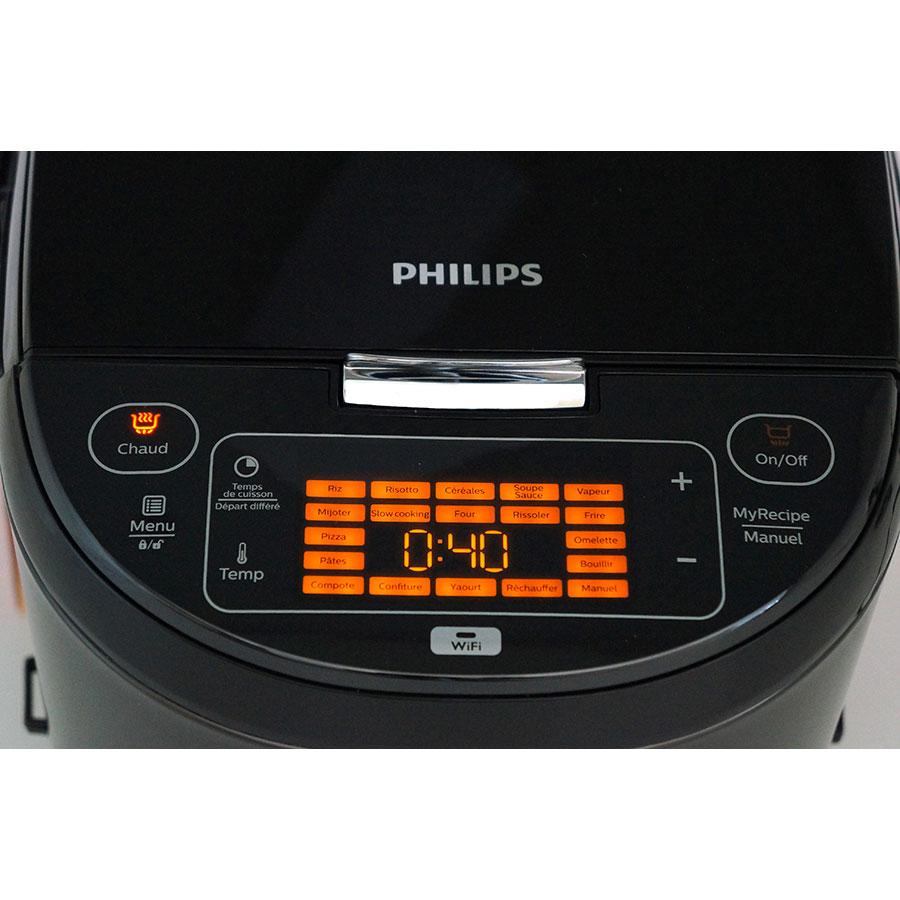 Philips HD3198 - Bandeau de commandes
