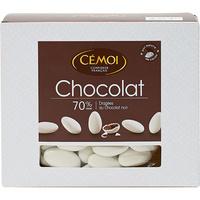 Cémoi Dragées au chocolat noir 70% cacao - Vue principale