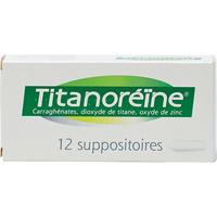 Titanoréïne Suppositoires - Vue principale