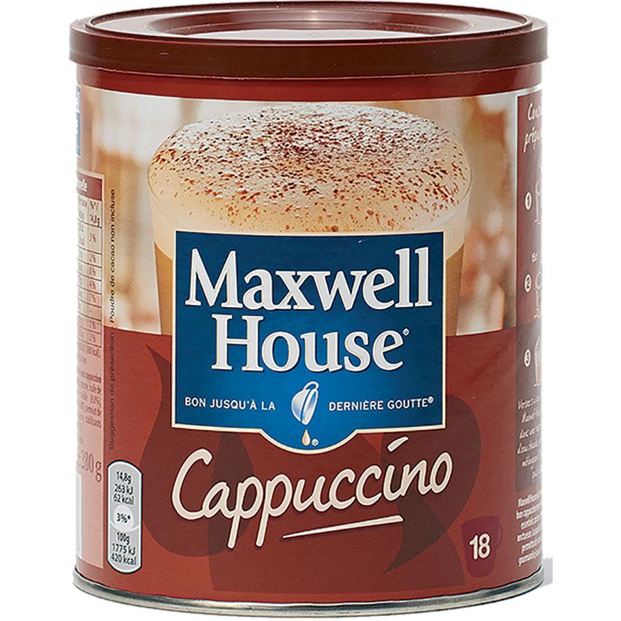 Maxwell House Cappuccino (préparation instantanée) - Vue principale