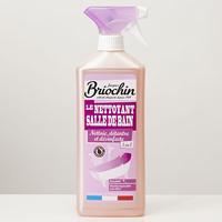 Briochin Nettoyant salle de bain, 3-en-1, nettoie, détartre et désinfecte