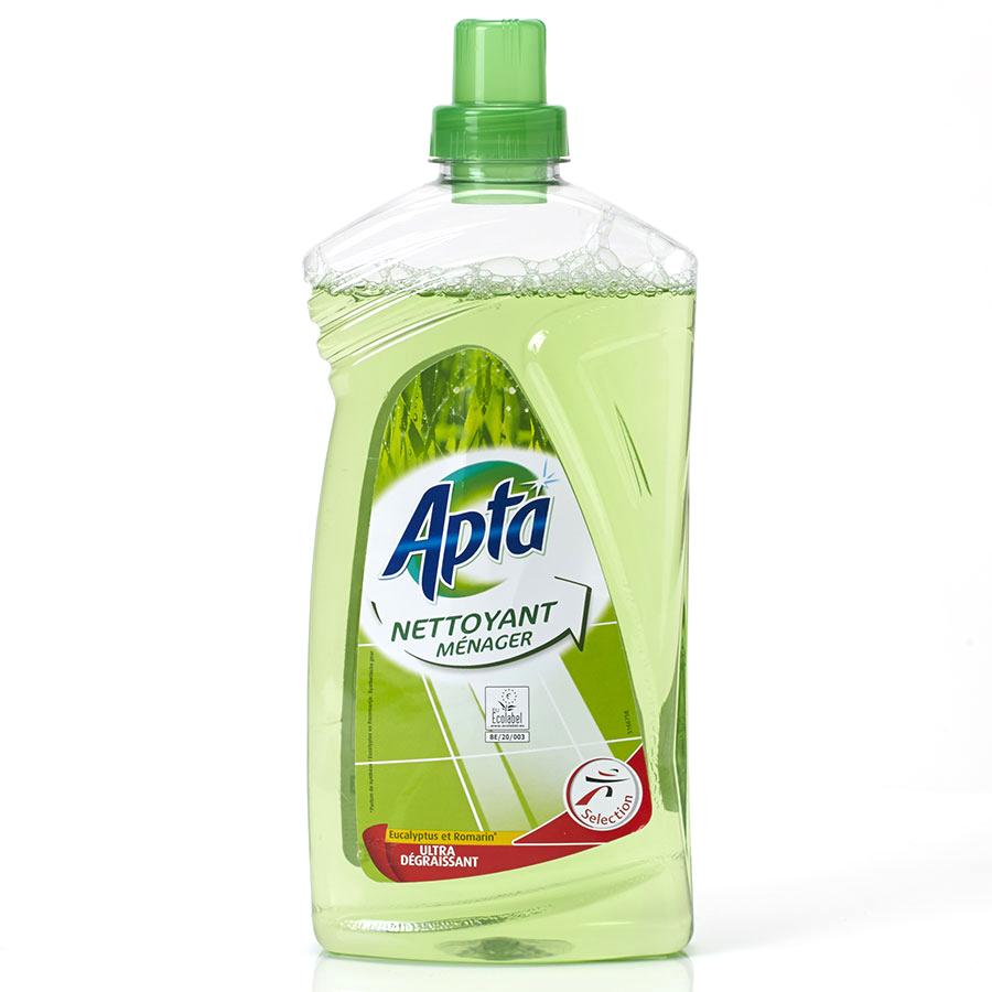 Apta (Intermarché) Nettoyant ménager eucalyptus & romarin -