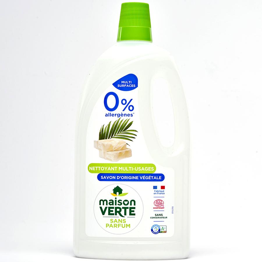 Maison verte Nettoyant multi-usages 0% allergènes -