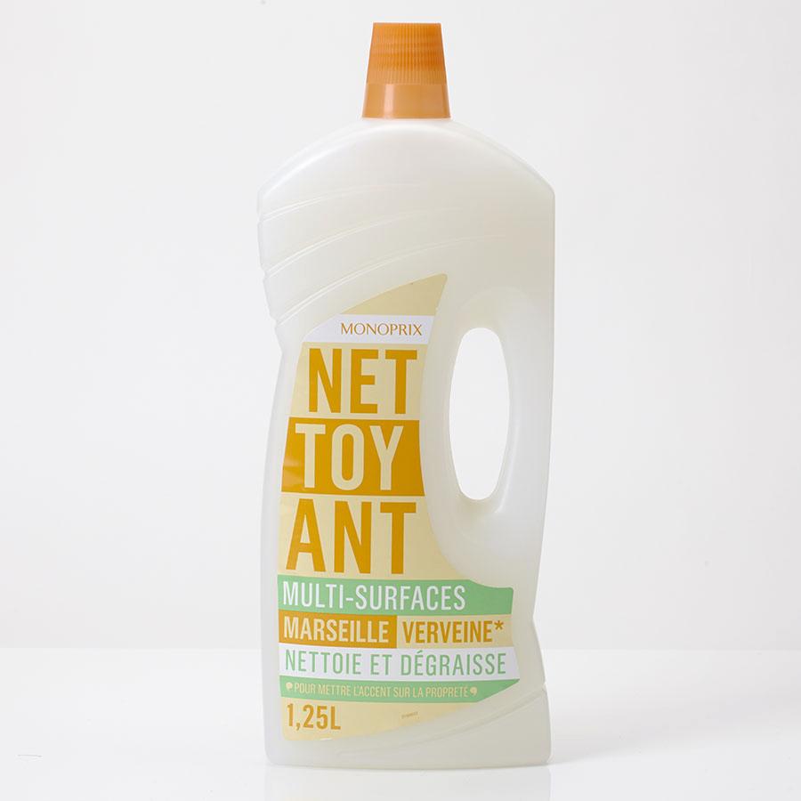 Monoprix Nettoyant multi-surfaces savon de Marseille-verveine -