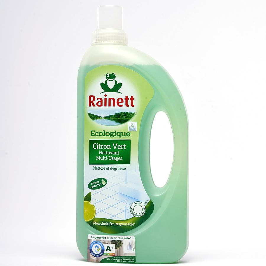 Rainett Nettoyant multi-usages citron vert écologique -