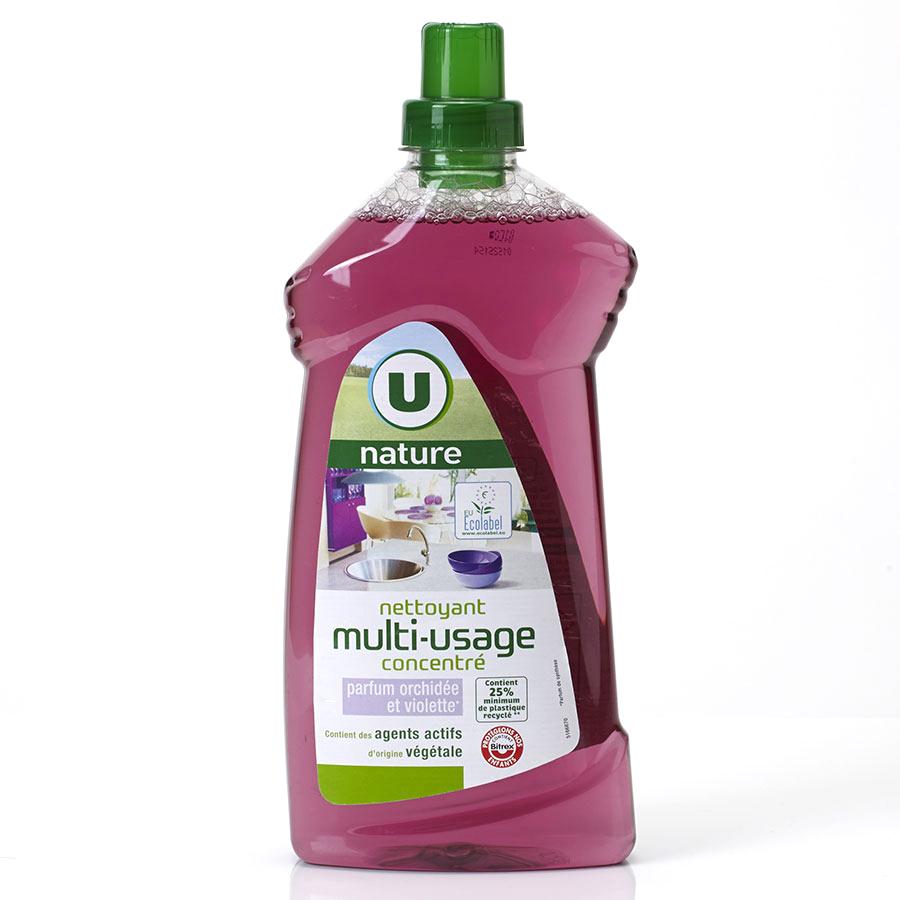 U Nature Nettoyant multi-usage concentré orchidée & violette -