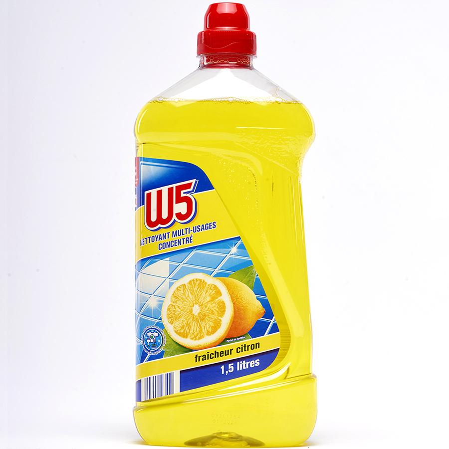 W5 (Lidl) Nettoyant multi-usages fraîcheur citron(*3*) -