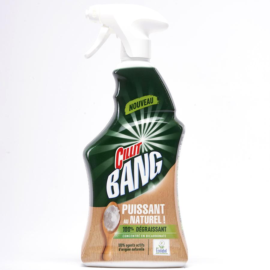 Cillit Bang Puissant au naturel ! Bicarbonate -