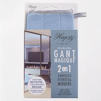 Hagerty Gant magique 2 en 1 surfaces vitrées & miroirs