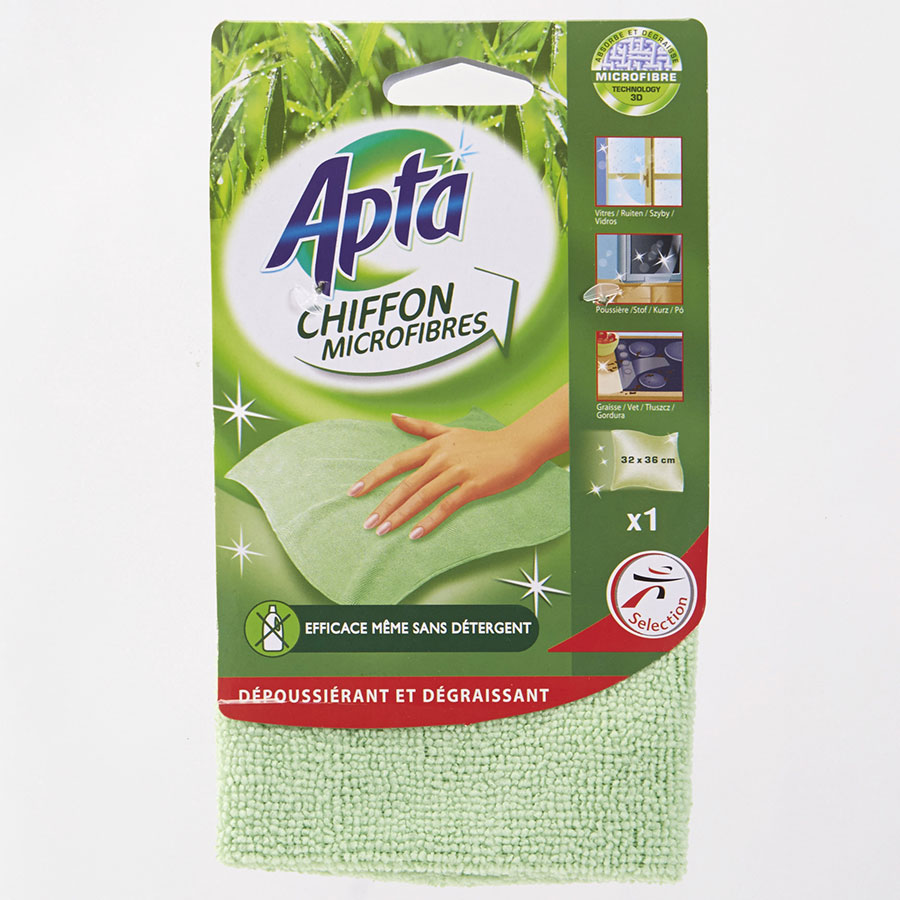 Apta (Intermarché) Chiffon microfibres -
