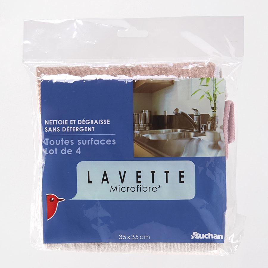 Auchan Lavette microfibre -