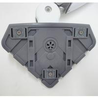 Black & Decker FSM1630 Steam Mop Deluxe(*1*) - Brosse triangulaire vue de dessous