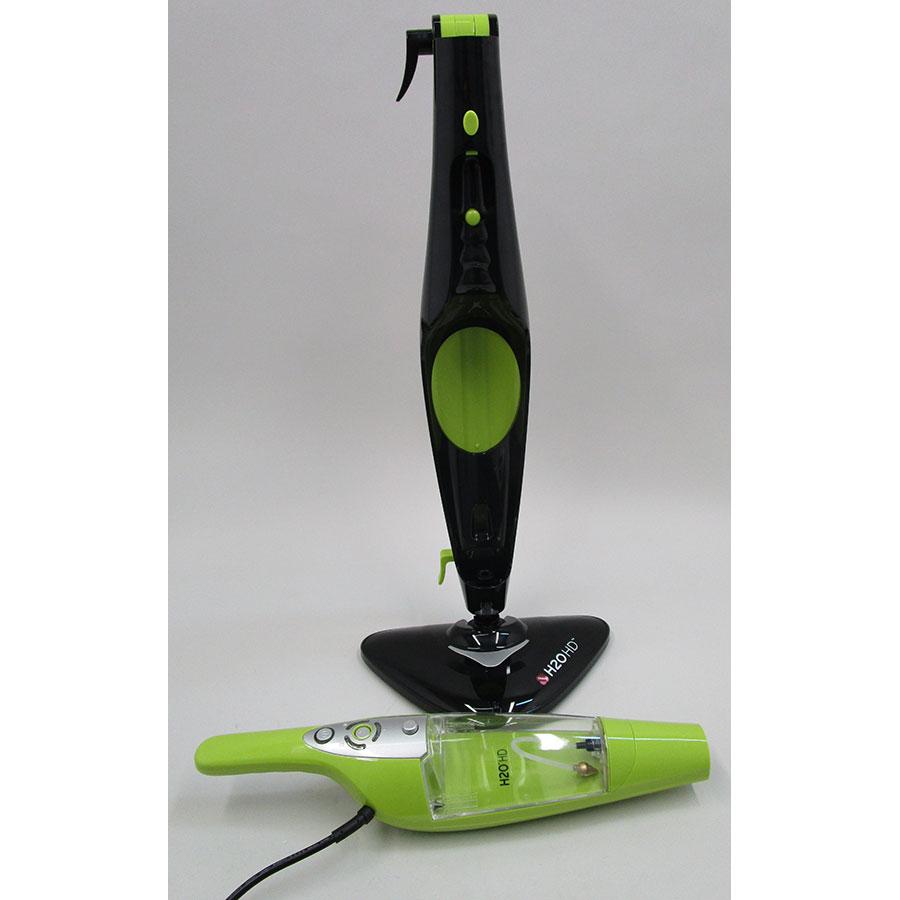 test h2o mop hd balai vapeur pack lingettes. Black Bedroom Furniture Sets. Home Design Ideas