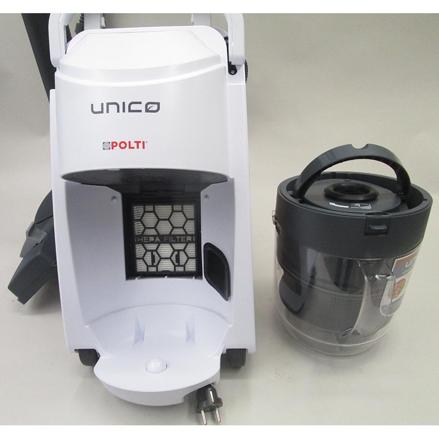 Polti Unico MCV85 Total Clean & Turbo PBEU0101 - Réservoir à poussières amovible