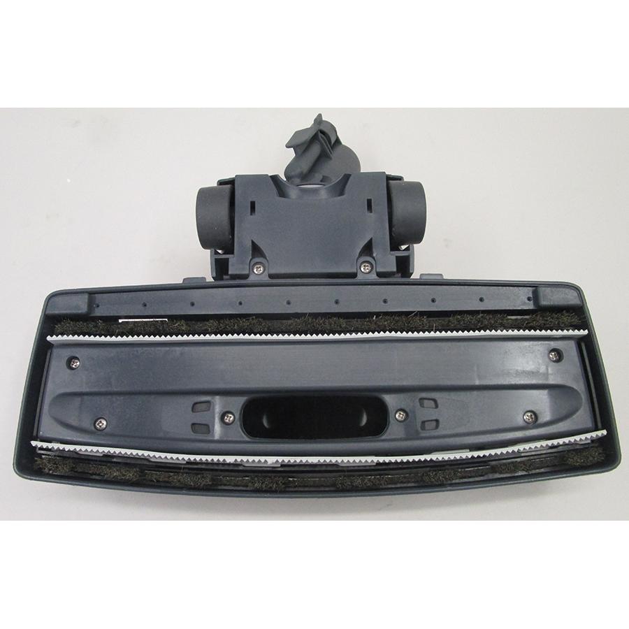 Polti Unico MCV85 Total Clean & Turbo PBEU0101 - Brosse large pour les sols vue de dessous