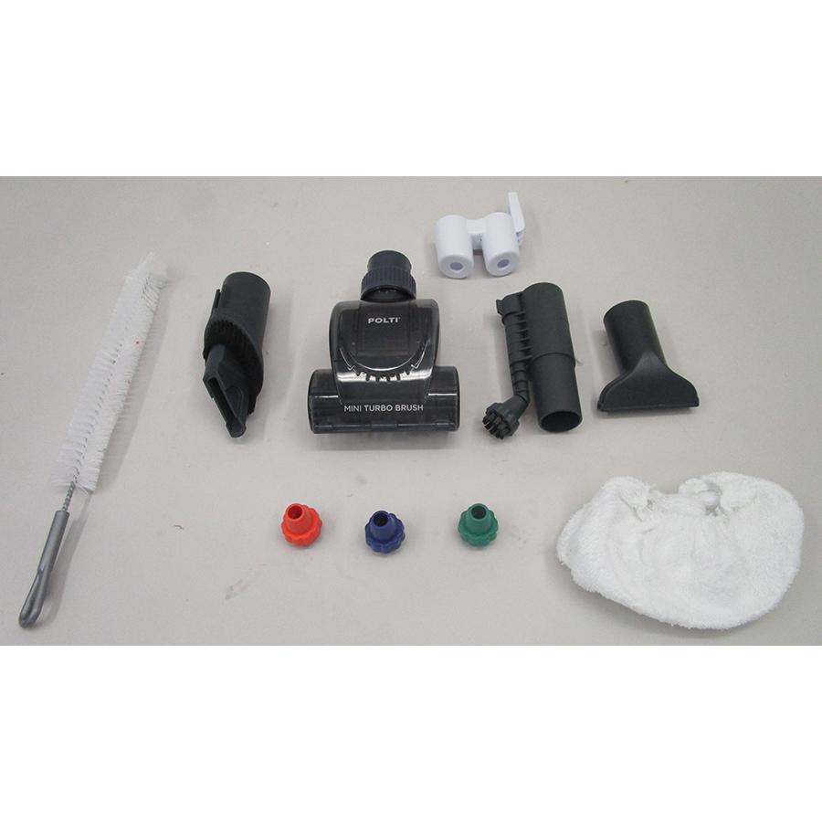 Polti Unico MCV85 Total Clean & Turbo PBEU0101 - Accessoires fournis de série