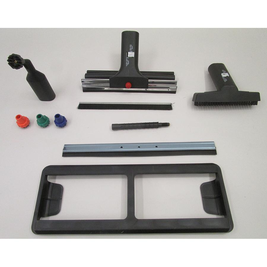Polti Vaporetto Pro 95 Turbo Flexi PTEU0280 - Accessoires fournis de série