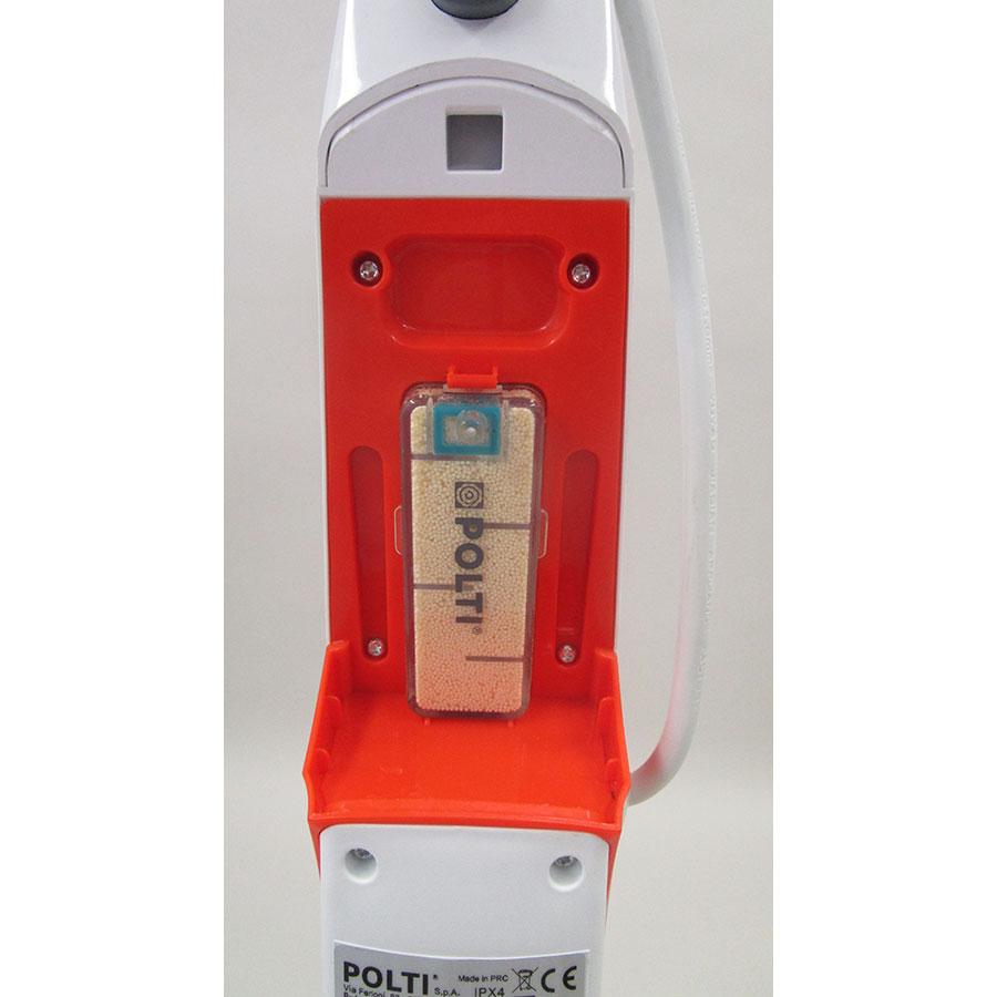 Polti Vaporetto SV420  - Emplacement de la cassette anti-calcaire