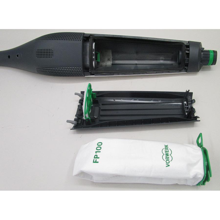 Vorwerk Duo Speed SPB100 pour Kobold VB100(*10*) - Réservoir à poussières ouvert