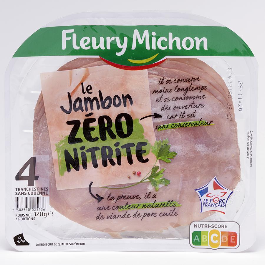 Fleury Michon Le Jambon Zéro Nitrite -