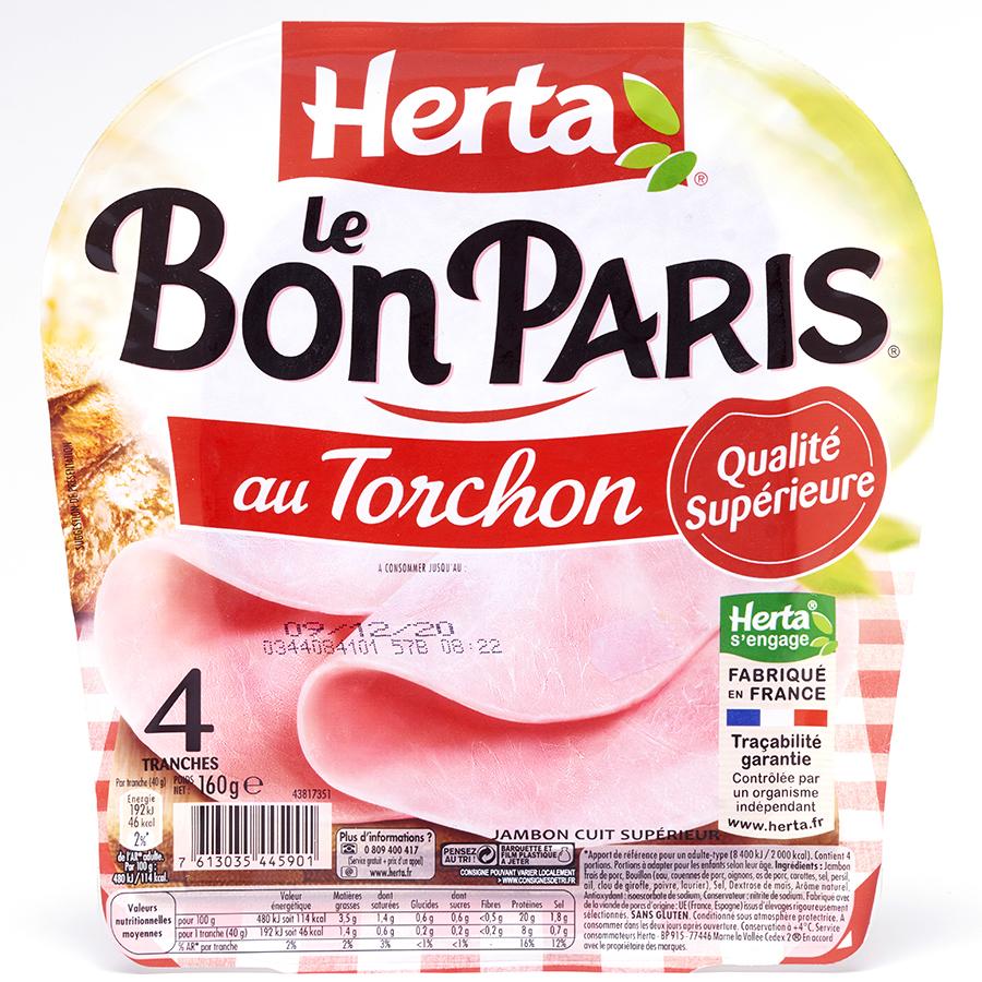 Herta Le Bon Paris au torchon  -