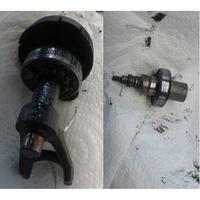 AEG OMNI 300-PB - Roulement cassé très rapidement lors du test d'usure
