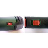 Bosch PMF 250 CES - Variateur et bouton marche/arrêt