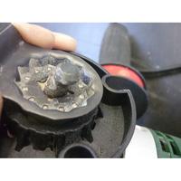 Bosch PMF 250 CES - Lame en position avant serrage