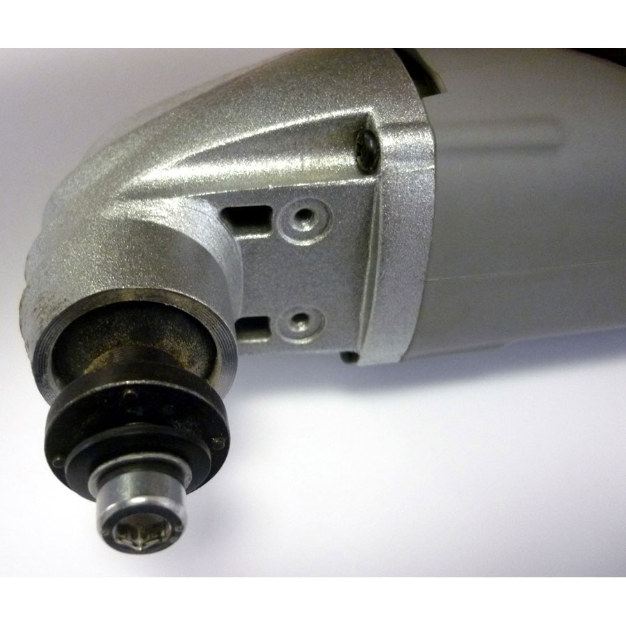 Auchan DB 5803 - Le porte outil est compatible avec les lames Bosch