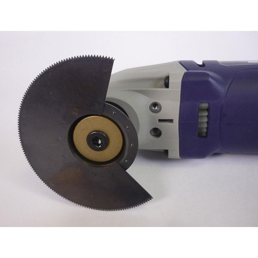 Carrefour DY 71948 - Lame Bosch installée avec l'adaptateur