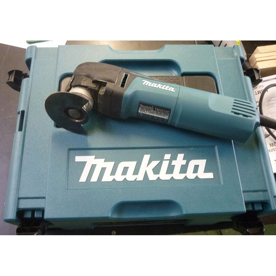 Makita TM3010C - Appareil sur son coffret