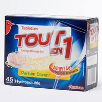 Auchan Tout-en-1 parfum citron