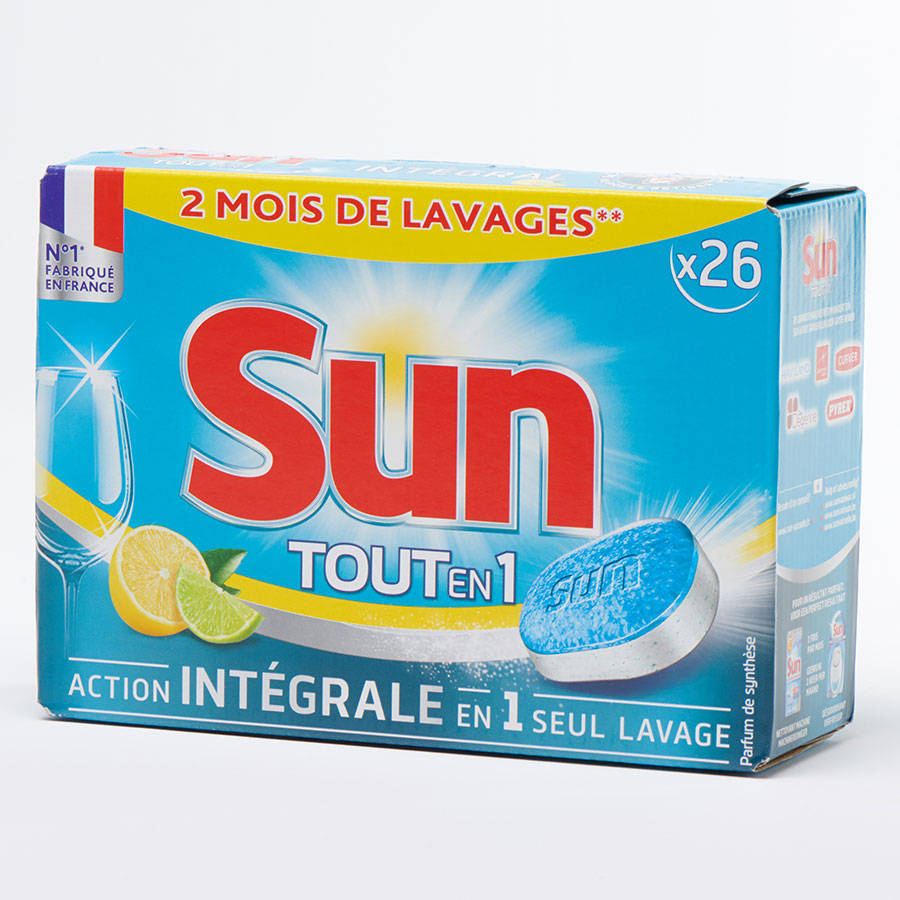 Sun Tout-en-1, citron -