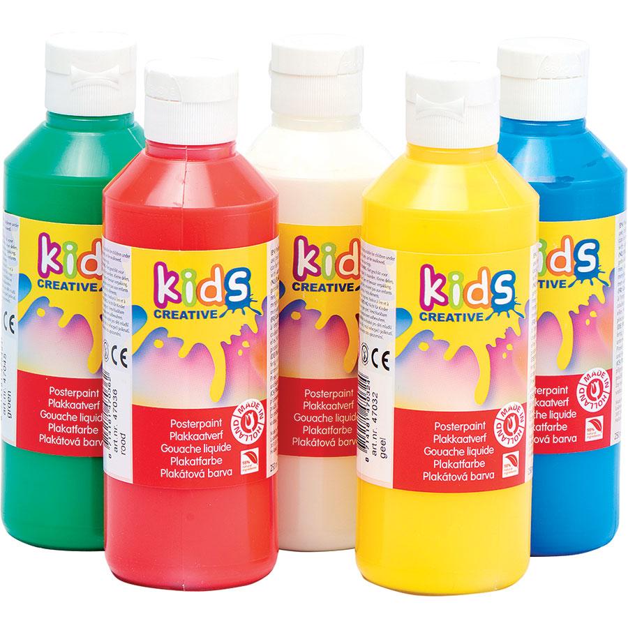 Kids creative Gouache liquide, 1 flacon(*2*) -