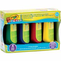 Crayola Mini kids 4 tubes de peinture aux doigts