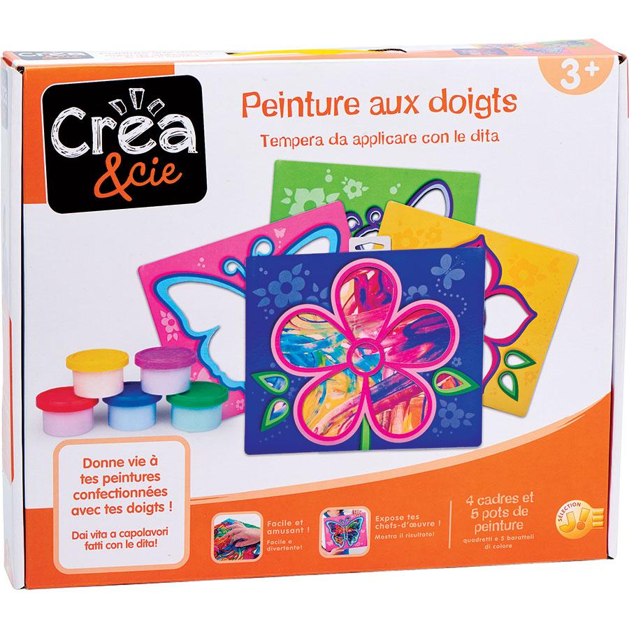 Crea & cie 5 peintures aux doigts (Jouéclub) -