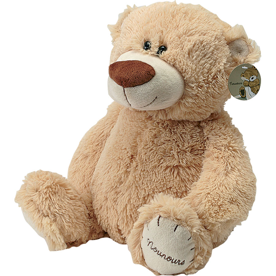 Ours brun clair Nounours  -