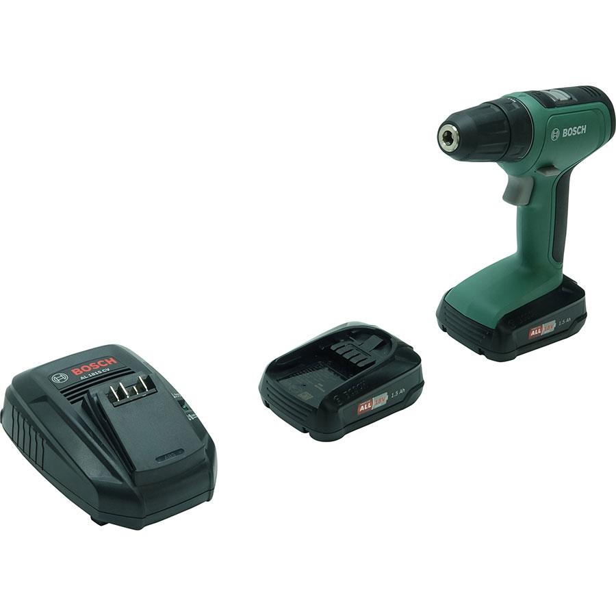 Bosch UniversalDrill 18 - Vue avec le chargeur