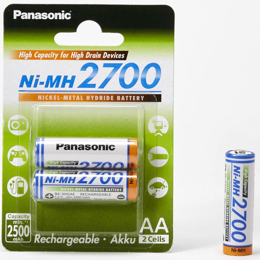 Panasonic 2500mAh-NiMH2700 -