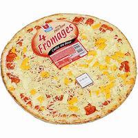 U 4 fromages pâte fine cuite au four