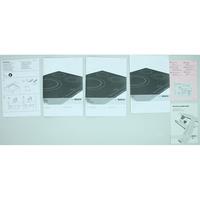 Bosch PIN651B17E - Accessoires et documents livrés avec le produit