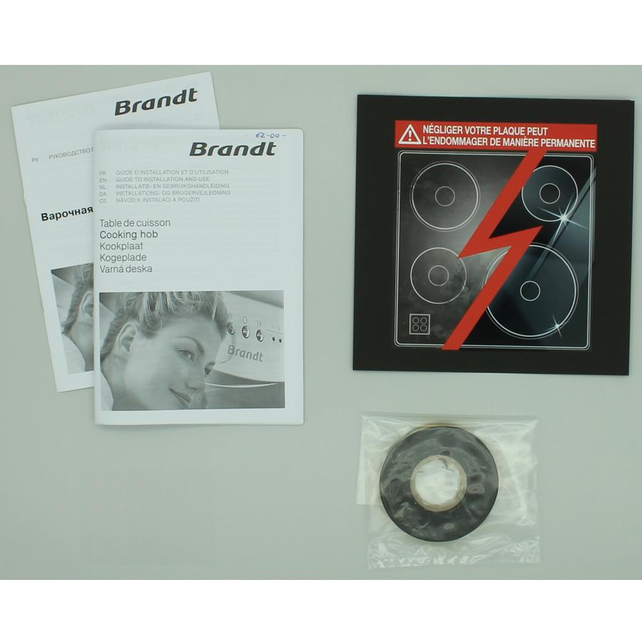 Brandt TI1033B - Accessoires et documents livrés avec le produit