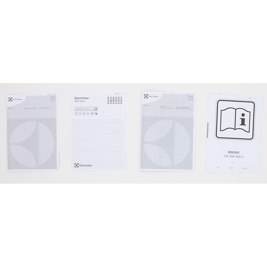 Electrolux E6223HFK - Accessoires et documents livrés avec le produit