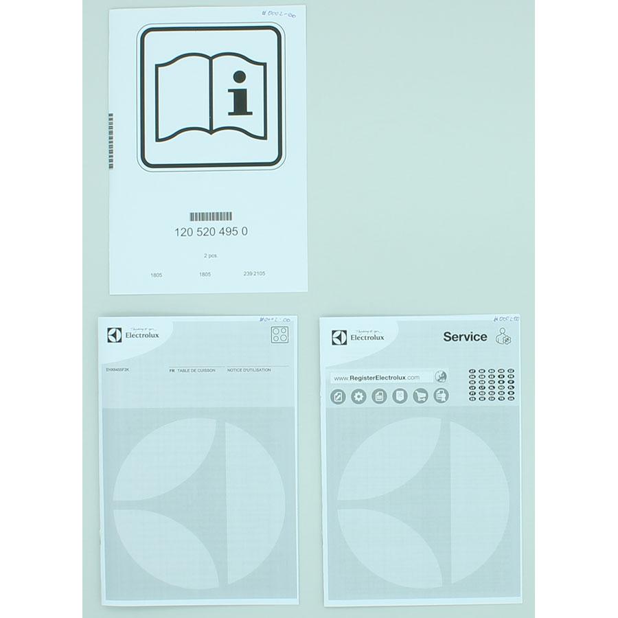 test electrolux ehx6455f2k tables induction ufc que choisir. Black Bedroom Furniture Sets. Home Design Ideas