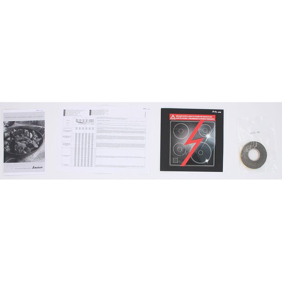 Sauter SPI4462B - Accessoires et documents livrés avec le produit