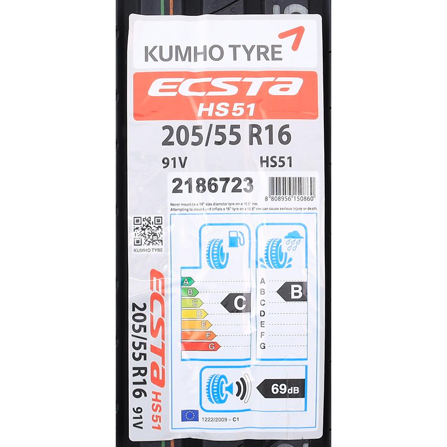 Kumho Ecsta HS51 -
