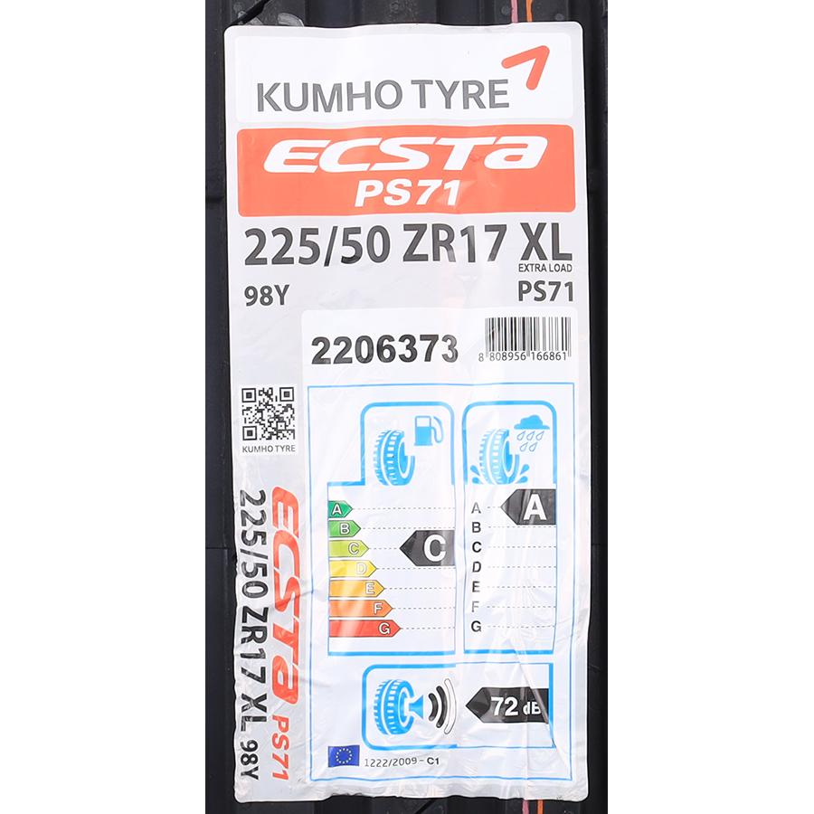 Kumho Ecsta PS71 -