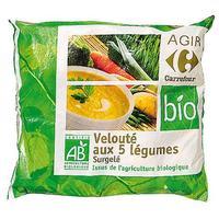 Agir Carrefour bio Velouté aux 5 légumes AB