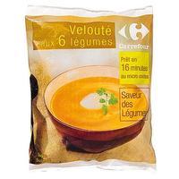 Carrefour Velouté aux 6 légumes*