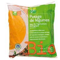 Filière bio Picard Potage issu de l'agriculture biologique
